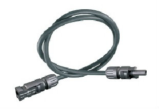 Solar cable with MC4 (4mm) connectors 5m